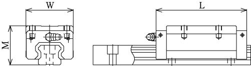 SHS-R直线导轨-THK直线导轨