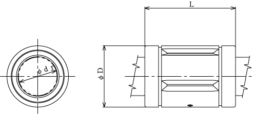 LM-MG不锈钢直线轴承,THK直线轴承,日本THK轴承,THK线性轴承代理http://www.tjcsl.cn