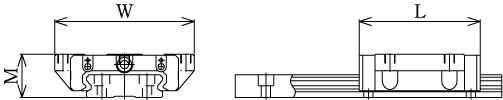 SHW直线导轨滑块