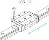 HSR-HA直线导轨