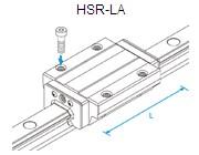 HSR-LA直线导轨