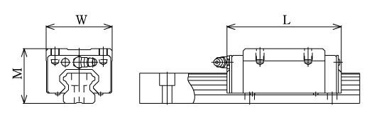 HSR-LR直线导轨图解