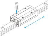 SHS-LV直线导轨滑块经销-THK直线导轨滑块