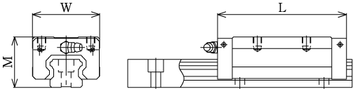 SHS-LV直线导轨滑块-日本THK直线导轨滑块