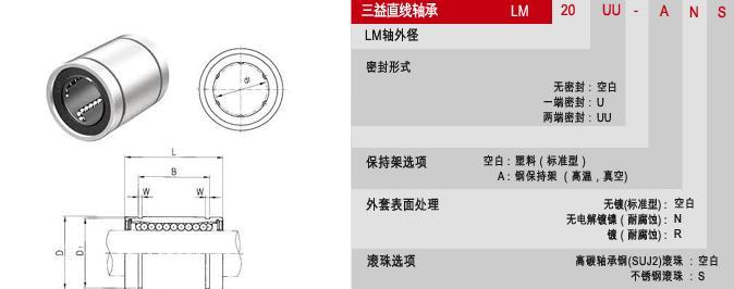 LM6UU直线轴承-SMIACK轴承